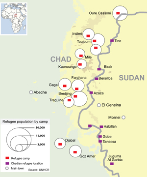 Darfur_Chad Border Refugee Camps